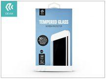 Samsung G955F Galaxy S8 Plus üveg képernyővédő fólia - Devia 3D Curved Tempered Glass - Teljes képernyős - 1 db/csomag - black