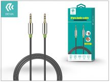 3,5 - 3,5 mm jack audio kábel 1 m-es vezetékkel - Devia iPure Audio Cable - black