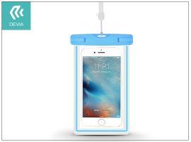 """Univerzális vízálló védőtok max. 5,5"""", méretű készülékekhez - Devia Ranger Fluorescence Waterproof Bag - blue"""