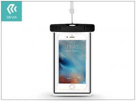 """Univerzális vízálló védőtok max. 5,5"""", méretű készülékekhez - Devia Ranger Fluorescence Waterproof Bag - black"""