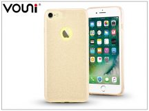 Apple iPhone 7 szilikon hátlap - Vouni Shine - champagne gold