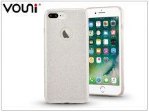 Apple iPhone 7 Plus szilikon hátlap - Vouni Shine - silver