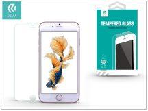 Apple iPhone 7 Plus üveg képernyő- + Crystal hátlapvédő fólia - Devia Tempered Glass 0.26 mm - 1 + 1 db/csomag