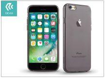 Apple iPhone 7/iPhone 8 szilikon hátlap - Devia Naked - smoky black