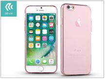 Apple iPhone 7/iPhone 8 szilikon hátlap - Devia Naked - rose gold