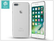 Apple iPhone 7 Plus/iPhone 8 Plus szilikon hátlap - Devia Naked - crystal clear