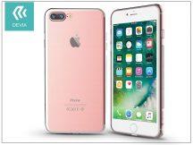 Apple iPhone 7 Plus/iPhone 8 Plus szilikon hátlap - Devia Naked - rose gold