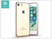 Apple iPhone 7/iPhone 8 szilikon hátlap - Devia Glitter Soft - champagne gold