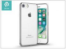 Apple iPhone 7 szilikon hátlap - Devia Glitter Soft - silver
