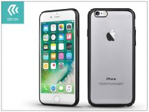 Apple iPhone 7/iPhone 8 hátlap - Devia Glimmer - gun black