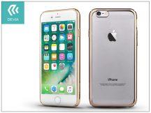 Apple iPhone 7 hátlap - Devia Glimmer - champagne gold