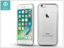 Apple iPhone 7/iPhone 8 hátlap - Devia Glimmer - silver