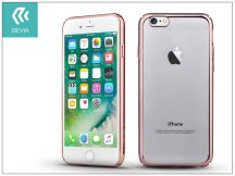 Apple iPhone 7/iPhone 8 hátlap - Devia Glimmer - rose gold