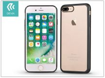 Apple iPhone 7 Plus/iPhone 8 Plus hátlap - Devia Glimmer - gun black