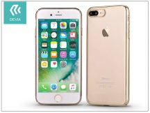 Apple iPhone 7 Plus/iPhone 8 Plus hátlap - Devia Glimmer - champagne gold