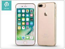 Apple iPhone 7 Plus/iPhone 8 Plus hátlap - Devia Glimmer - champagne gold