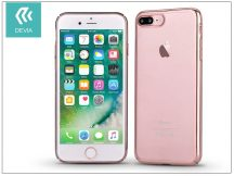 Apple iPhone 7 Plus/iPhone 8 Plus hátlap - Devia Glimmer - rose gold