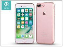 Apple iPhone 7 Plus/iPhone 8 Plus hátlap - Devia Glimmer - rose gold