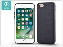 Apple iPhone 7/iPhone 8 szilikon hátlap - Devia Jelly Slim Leather 2 - black