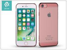 Apple iPhone 7/iPhone 8 hátlap - Devia Glimmer 2 - rose gold