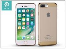 Apple iPhone 7 Plus/iPhone 8 Plus hátlap - Devia Glimmer 2 - champagne gold