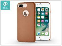 Apple iPhone 7 Plus hátlap - Devia Successor - brown