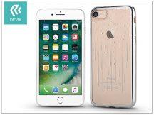 Apple iPhone 7/iPhone 8 hátlap Swarovski kristály díszitéssel - Devia Crystal Meteor Soft - silver