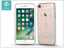 Apple iPhone 7 hátlap Swarovski kristály díszitéssel - Devia Crystal Baroque - silver