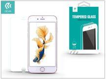 Apple iPhone 7 üveg képernyő- + Crystal hátlapvédő fólia - Devia Tempered Glass 0.18 mm - 1 + 1 db/csomag