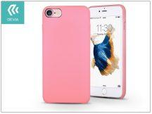 Apple iPhone 7/iPhone 8 hátlap - Devia Ceo 2 - rose pink