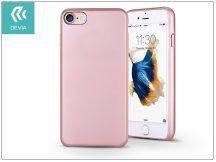 Apple iPhone 7 hátlap - Devia Ceo 2 - rose gold