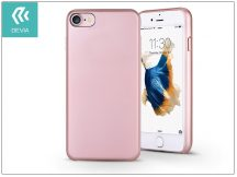 Apple iPhone 7/iPhone 8 hátlap - Devia Ceo 2 - rose gold