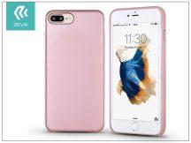 Apple iPhone 7 Plus/iPhone 8 Plus hátlap - Devia Ceo 2 - rose gold