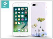 Apple iPhone 7 Plus/iPhone 8 Plus hátlap - Devia Vivid - lotus
