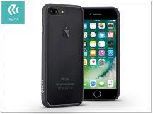 Apple iPhone 7 Plus hátlap - Devia Hybrid - black/transparent