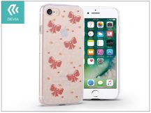 Apple iPhone 7/iPhone 8 szilikon hátlap - Devia Nifty - bowknot