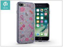 Apple iPhone 7 Plus/iPhone 8 Plus szilikon hátlap - Devia Nifty - honey