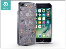 Apple iPhone 7 Plus/iPhone 8 Plus szilikon hátlap - Devia Nifty - bunnies