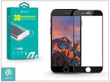 Apple iPhone 7 Plus üveg képernyő- + Crystal hátlapvédő fólia - Devia 3D Curved Tempered Glass - Teljes képernyős - 1 + 1 db/csomag - black