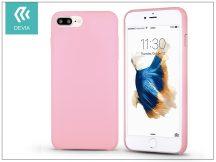 Apple iPhone 7 Plus/iPhone 8 Plus szilikon hátlap - Devia Successor - pink