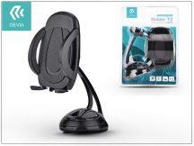 Univerzális PDA/GSM autós tartó - Devia Universal Car Mount Holder T2 - black