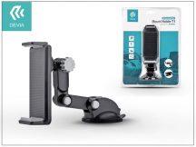 Univerzális PDA/GSM autós tartó - Devia Universal Car Mount Holder T1 - black