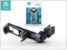 Univerzális szellőzőrácsba illeszthető autós tartó max. 3,5-6&quot, méretű készülékekhez - Devia Universal Car Air Vent Holder X2 - black
