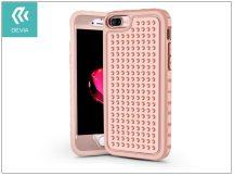Apple iPhone 7 Plus/iPhone 8 Plus ütésálló védőtok - Devia Armour Shockproof - pink