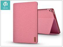 Apple iPad 9.7 (2017) védőtok (Smart Case) on/off funkcióval - Devia Flax Flip - pink