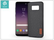 Samsung G955F Galaxy S8 Plus hátlap - Devia Flax - black