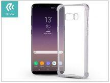 Samsung G955F Galaxy S8 Plus hátlap - Devia Shockproof - crystal clear