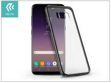 Samsung G955F Galaxy S8 Plus hátlap - Devia Glimmer - gun black
