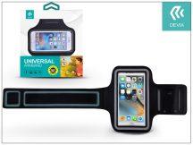 """Univerzális kartok sportoláshoz, max. 5,5"""", méretű készülékekhez - Devia iSport Universal Armband - black/grey"""