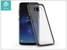 Samsung G950F Galaxy S8 hátlap - Devia Glimmer - gun black